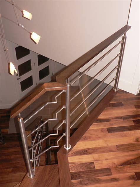escalier limon central acier escalier 224 limon central boiseries sir laurier