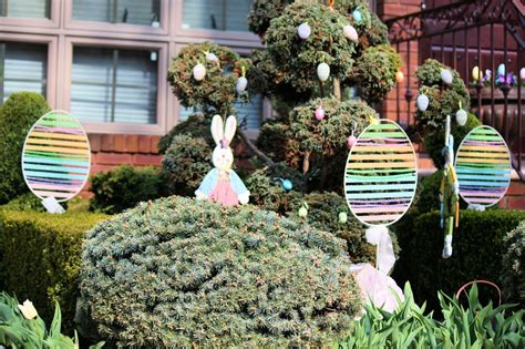 Easter Egg Garden Decoration by Easter Decorations For Outdoors And Indoors Hometalk