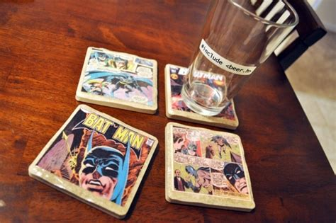 perfect gift for comic book fan diy comic book coasters 7 creative diy gifts for your