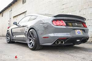 Ford Shelby Mustang GT350 Grey Project 6GR SEVEN   Wheel Front