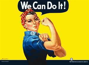 """""""We Can Do It"""" Boosts Morale Among Female World War II Workers"""