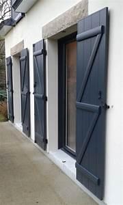 Barre De Volet : volets battants aluminium lames verticales barres et charpe z ~ Melissatoandfro.com Idées de Décoration