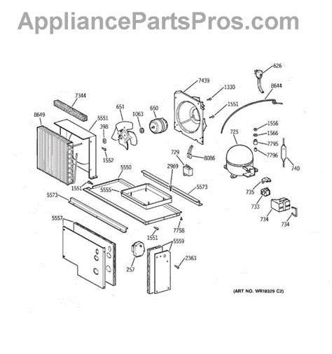 parts  ge zissdcass unit parts appliancepartsproscom