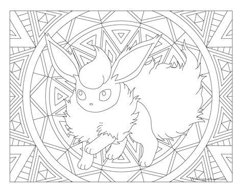 Kleurplaat Pokemon Leafeon Kleurplaat Tv Series Kleurplaat