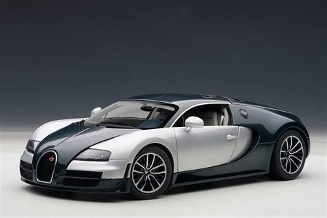 And White Bugatti by Autoart Bugatti Veyron Sport Blue W Silver