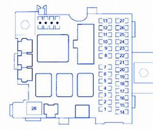 Honda Insight 2003 Fuse Box  Block Circuit Breaker Diagram