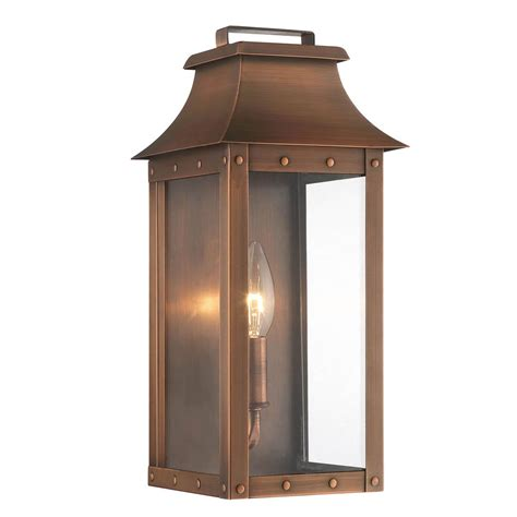 acclaim lighting manchester copper patina one light