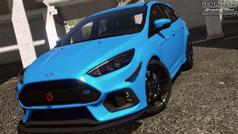 Ford Focus Extrem Getunt by Ford Focus Rs 2017 Add On Replace Tuning Template