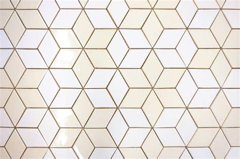 Tile Trend: Modern Scandinavian Diamonds