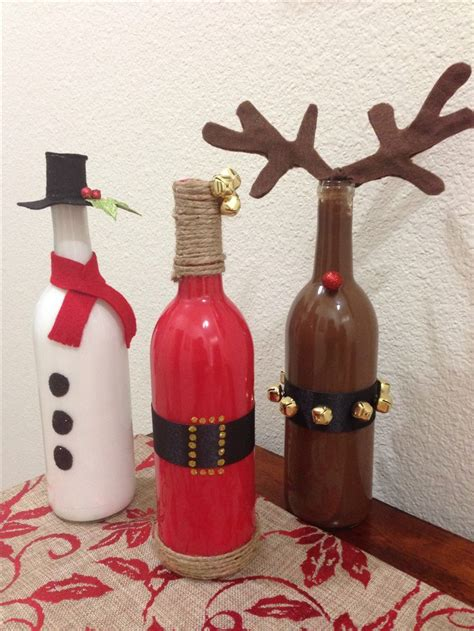 wine bottle ls crafts 146 best images about recycled repurposed christmas