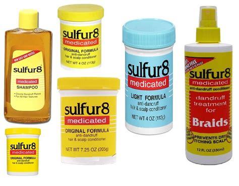 Sulfur-8 Medicated Original Anti-dandruff Hair Products