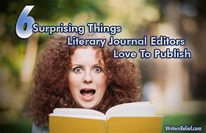 6 Surprising Things Literary Journal Editors Love To