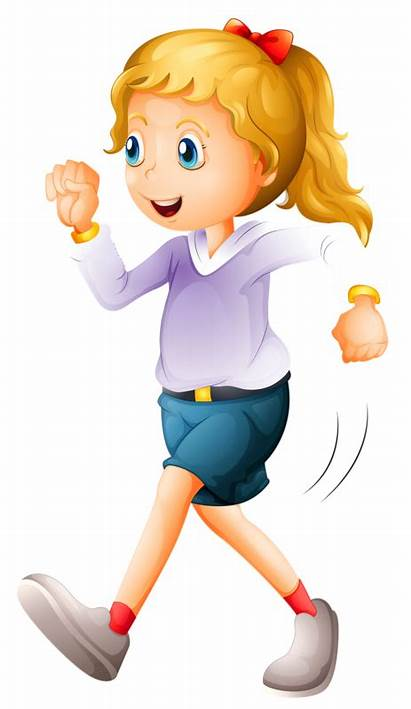 Walking Clipart Exercise Woman Clip Sailor Animated