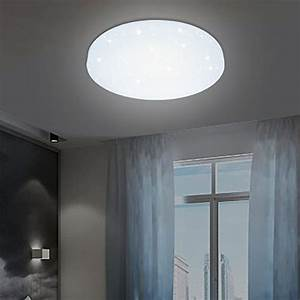 Led Panel Himmel : vingo 12w led deckenleuchte deckenlampe wei wohnzimmerlampe schlafzimmer badleuchte ~ Orissabook.com Haus und Dekorationen