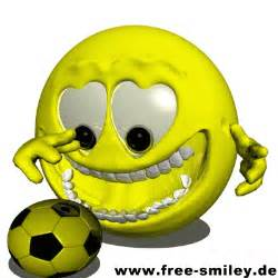 Football Animated Smiley Faces