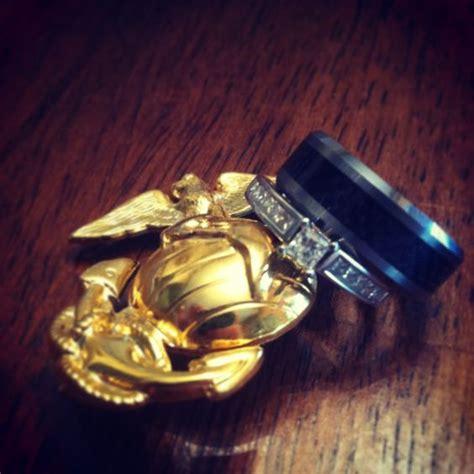 usmc marine corps wedding rings usmc pinterest