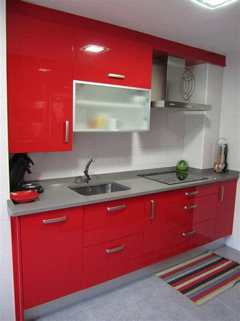 cocina roja red kitchen diseno cocinas modernas muebles de cocina cocinas