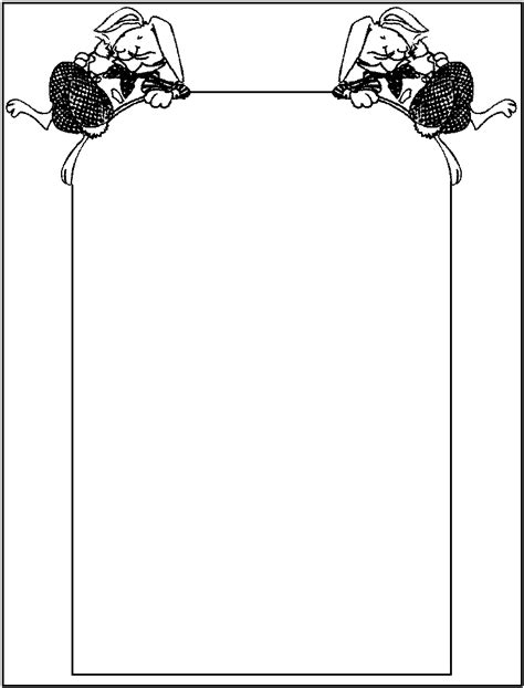 borders coloring pages  printable colouring pages  kids  print  color