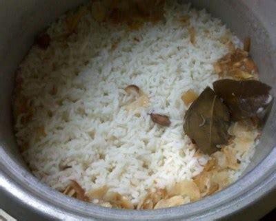 membuat nasi uduk enak  rice cooker