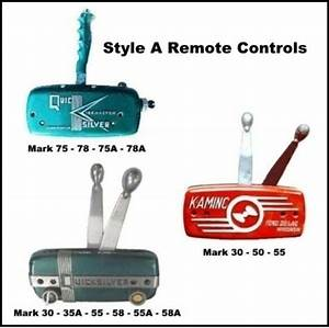 Remote Control Throttle Or Shift Cable For Mercury Mark 30