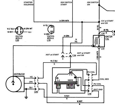 Gm Hei Module Wiring by 5 Pin Gm Hei Ignition Module Wiring Diagram Wiring