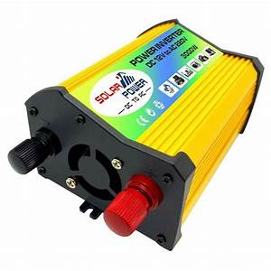 3000w Car Solar Power Inverter Dc12v To Ac 220v  110v Car