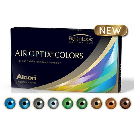 air colors air optix colors