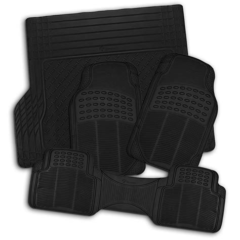 weather track mats zone tech all weather rubber semi pattern car interior