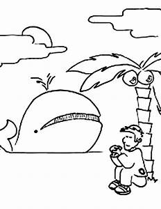 jonah coloring pages - jonah and the whale coloring pages the story