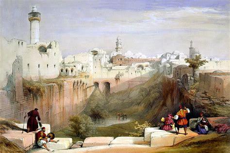 The Pool of Bethesda Jerusalem Photograph by Munir Alawi