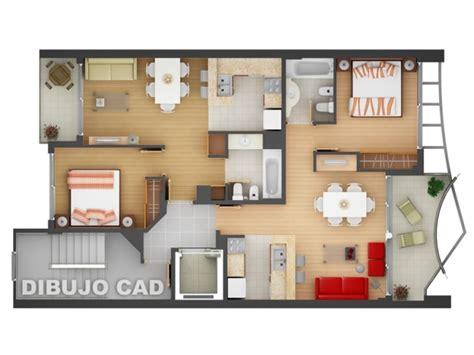 plan appartement 2 chambres 50 plans en 3d d 39 appartements et maisons page 4 sur 6