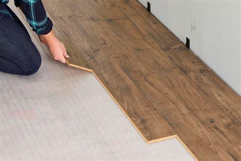 install laminate wood floor  homes gardens