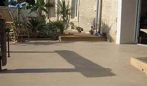 terrasse archives du beton dans la maison With terrasse beton cire exterieure