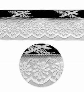 Palme Schwarz Weiß : lotband kreuz palme schwarz wei mit spitze preis pro 50m rolle lotb nder und ~ Eleganceandgraceweddings.com Haus und Dekorationen
