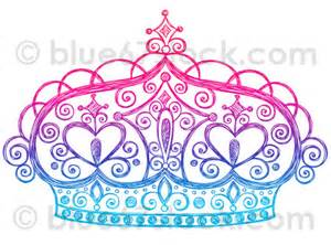 Tiara Princess Crown Drawings