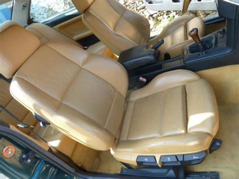 garniture de bureau en cuir troc echange bmw e36 intérieur cuir beige complet avec