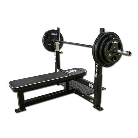 Bench Press Own Weight by Legend Fitness Competition Flat Bench Press 3906