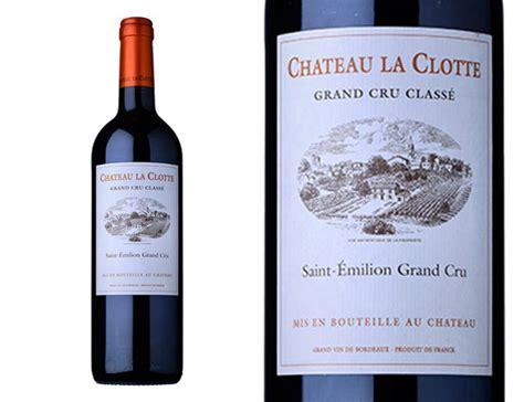 vin chambré achat château la clotte 2013 wineandco