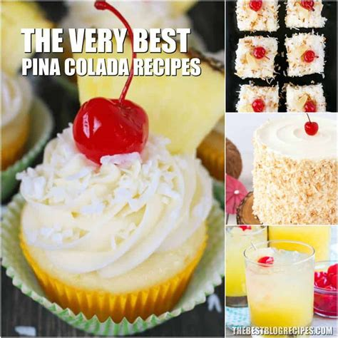 It turned out watery and relatively tasteless for a piña colada. Pina Colada Recipes (With images) | Easy pina colada ...