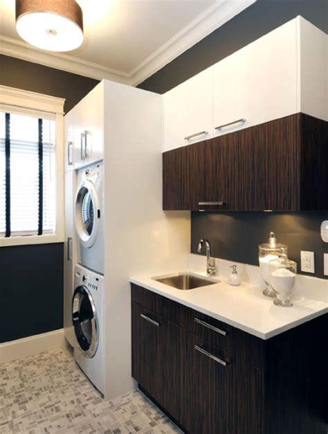 laundry room cabinets  small space ideas homemydesign