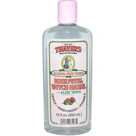thayers alcohol free rose petal witch hazel with aloe vera 12 fluid ounce witch hazel is godlike for your skin scars acne bodybuilding forums