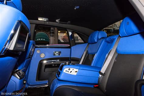 Rolls Royce Ghost Black Badge Back Seat Features
