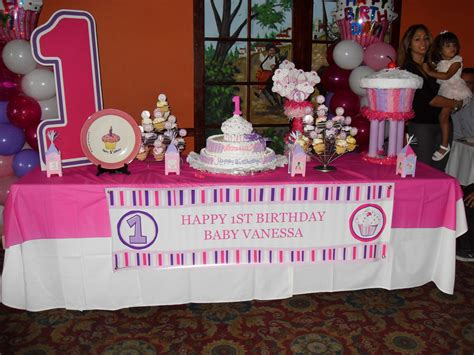 Cupcake Party  Party Decorations By Teresa