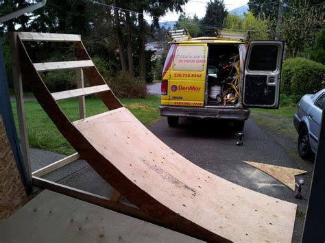 building wood slopestyle booters pinkbike forum