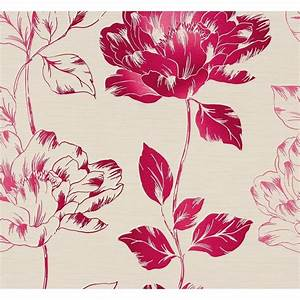 AS Creation Pure Floral Pattern Flower Leaf Motif Textured ...
