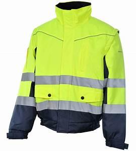 Blouson De Travail Chaud : blouson de travail haute visibilit 2 en 1 jaune marine ~ Dailycaller-alerts.com Idées de Décoration