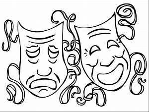 Mardi Gras Mask Coloring Pages For Kids At Getcolorings Com