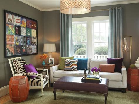 Eclectic : 10 Modern Eclectic Living Room Interior Design Ideas