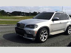 BMW X5 48i straight pipe and lowered mini movie YouTube