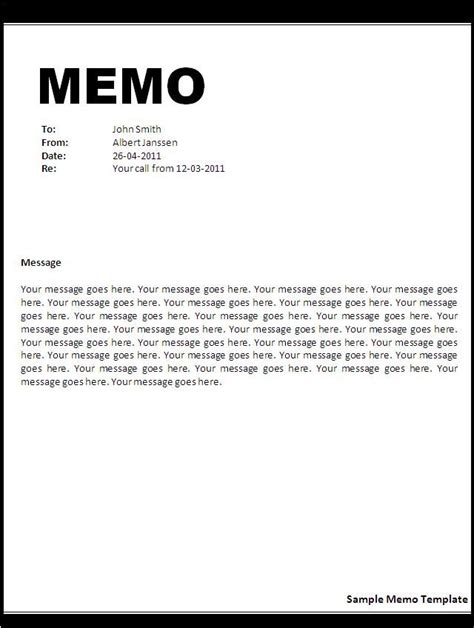 letters  memos   common formats  business
